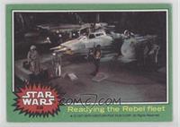 Readying the Rebel Fleet
