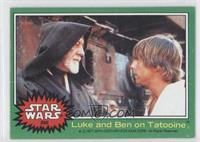 Luke and Ben on Tatooine