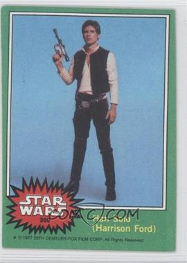 1977 Topps Star Wars - [Base] #260 - Han Solo (Harrison Ford)