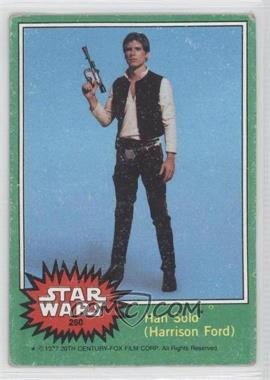 1977 Topps Star Wars - [Base] #260 - Han Solo (Harrison Ford) [Good to VG‑EX]