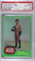 Star Pilot Luke Skywalker! [PSA8NM‑MT]