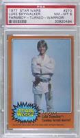 Luke Skywalker: Farmboy-Turned-Warrior! [PSA8NM‑MT]