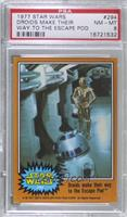 Droids Make Their Way to the Escape Pod [PSA 8 NM‑MT]