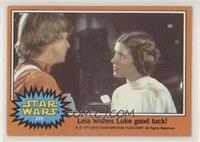 Leia Wishes Luke Good Luck! [GoodtoVG‑EX]