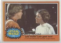 Leia Wishes Luke Good Luck! [PoortoFair]