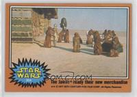 The Jawas Ready the New Merchandise