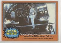 Inside the Millennium Falcon