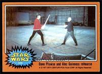 Dave Prowse and Alex Guinness Rehearse [EX MT]