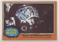 Aboard the Millennium Falcon