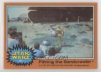 Filming the Sandcrawler