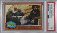 Sir Alec Guiness and George Lucas [PSA 7 NM]