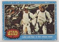 Luke and Han in the Refuse Room