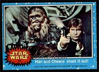 Han and Chewie Shoot it Out! [EX MT]
