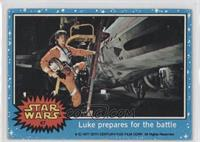 Luke Prepares for the Battle [Good to VG‑EX]