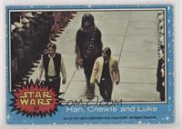 Han, Chewie and Luke [GoodtoVG‑EX]