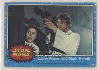 Carrie Fisher and Mark Hamill [PoortoFair]