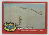 Threepio's Desert Trek [Good to VG‑EX]