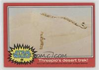 Threepio's Desert Trek! [Good to VG‑EX]
