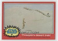 Threepio's Desert Trek