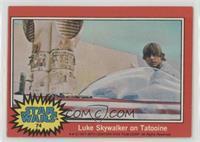 Luke Skywalker on Tatooine