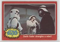 Darth Vader Strangles a Rebel!