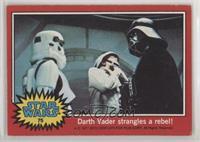 Darth Vader Strangles a Rebel! [GoodtoVG‑EX]