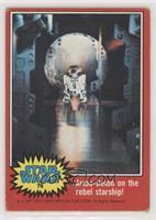 Artoo-Detoo on the Rebel Starship!