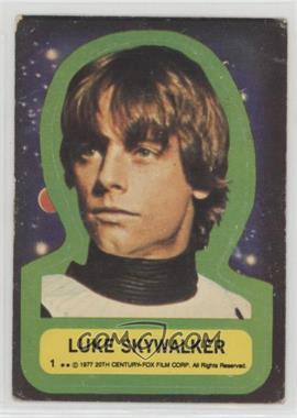 1977 Topps Star Wars - Stickers #1 - Luke Skywalker [PoortoFair]