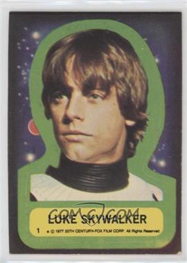 1977 Topps Star Wars - Stickers #1 - Luke Skywalker