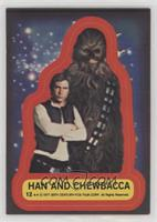 Han and Chewbacca