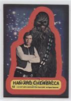 Han and Chewbacca [Good to VG‑EX]
