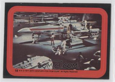1977 Topps Star Wars - Stickers #18 - X-Wing