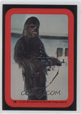 1977 Topps Star Wars - Stickers #19 - Chewbacca