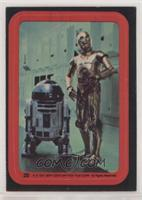 C-3PO, R2-D2 [Good to VG‑EX]
