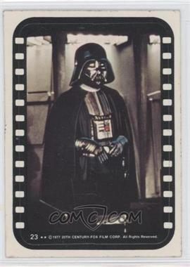 1977 Topps Star Wars - Stickers #23 - Lord Darth Vader
