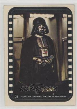 1977 Topps Star Wars - Stickers #23 - Lord Darth Vader [GoodtoVG‑EX]