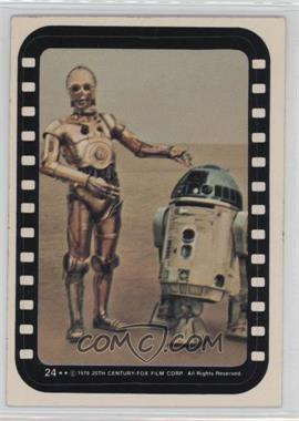 1977 Topps Star Wars - Stickers #24 - See-Threepio, Artoo-Detoo
