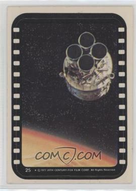 1977 Topps Star Wars - Stickers #25 - Escape Pod
