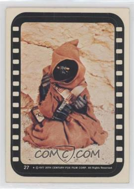 1977 Topps Star Wars - Stickers #27 - Jawa