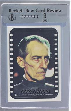 1977 Topps Star Wars - Stickers #28 - Grand Moff Tarkin