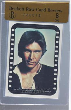 1977 Topps Star Wars - Stickers #29 - Han Solo