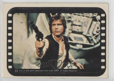 1977 Topps Star Wars - Stickers #33 - Han Solo [GoodtoVG‑EX]