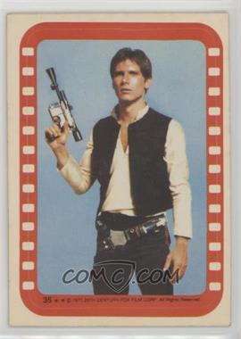 1977 Topps Star Wars - Stickers #35 - Han Solo