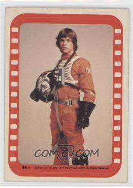 1977 Topps Star Wars - Stickers #36 - Luke Skywalker [GoodtoVG‑EX]