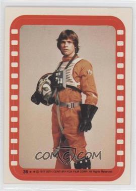 1977 Topps Star Wars - Stickers #36 - Luke Skywalker