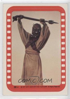 1977 Topps Star Wars - Stickers #39 - Tusken Raider