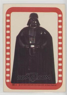 1977 Topps Star Wars - Stickers #40 - Lord Darth Vader [Good to VG‑EX]