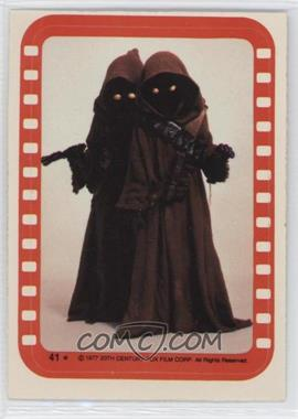 1977 Topps Star Wars - Stickers #41 - Jawa