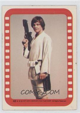 1977 Topps Star Wars - Stickers #42 - Luke Skywalker [GoodtoVG‑EX]