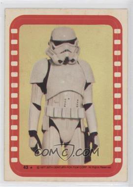 1977 Topps Star Wars - Stickers #43 - Stormtrooper